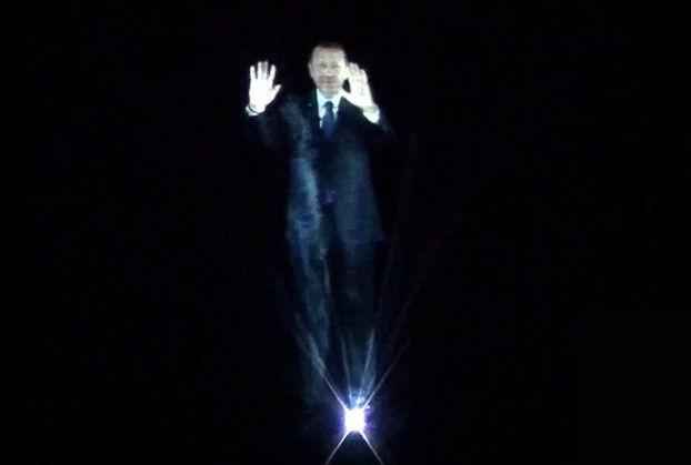 politico-holograma