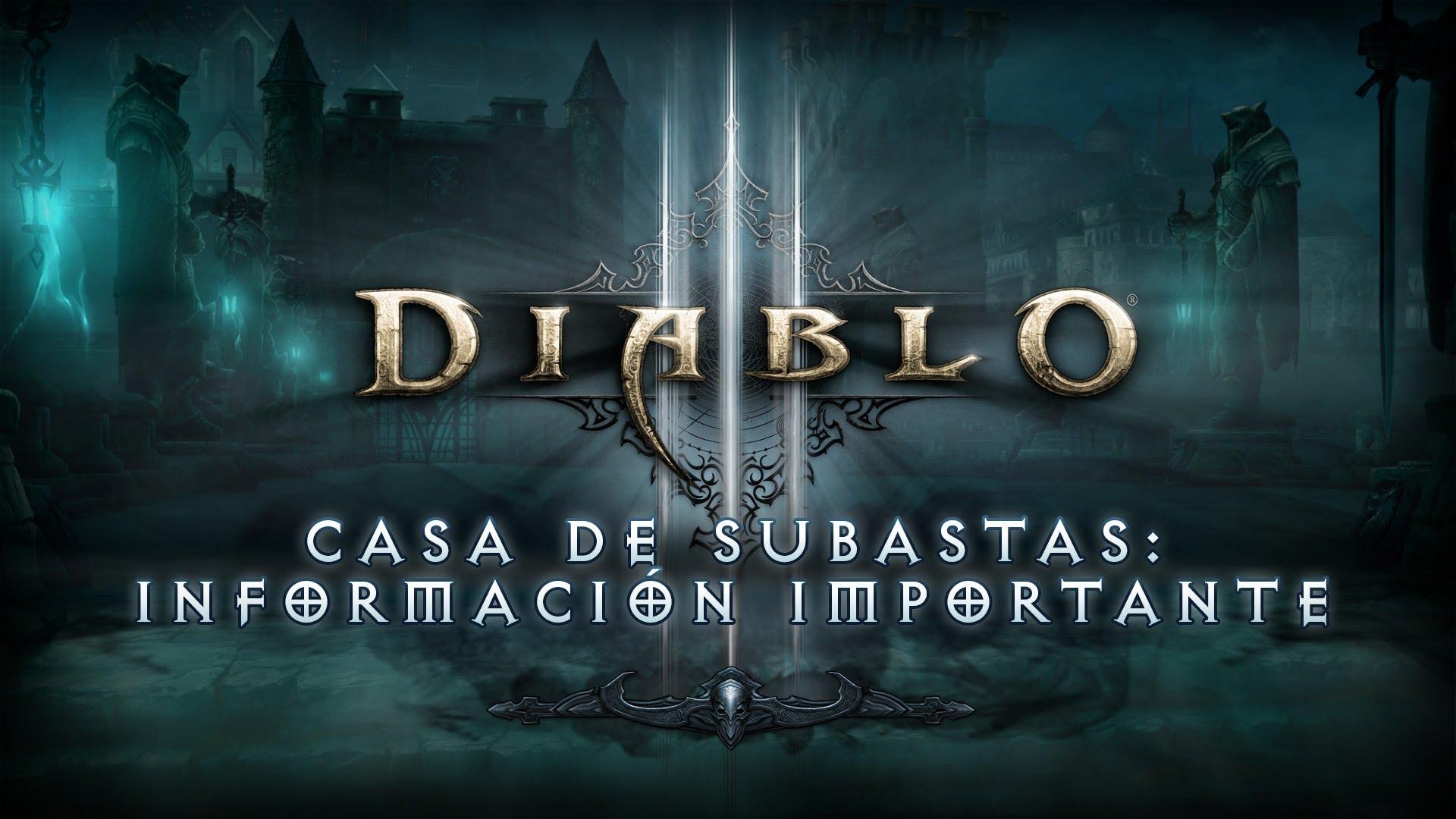 Diablo 3 casa de subastas