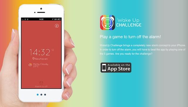WakeUp Challenge despertador