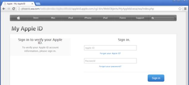 estafa con usuarios de apple