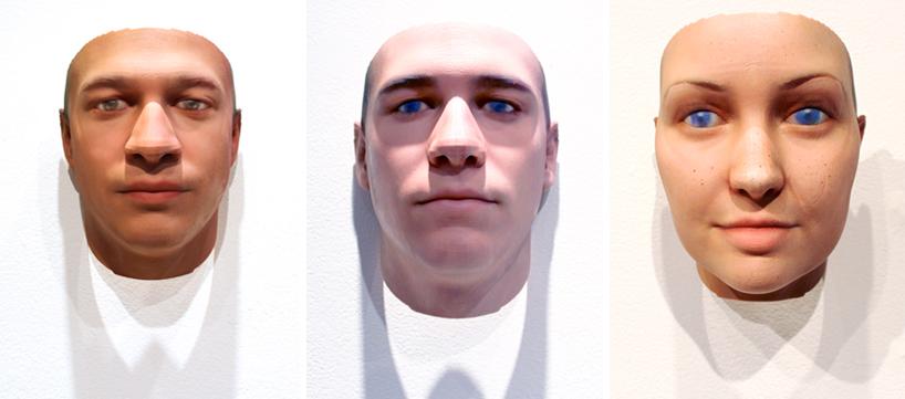 recrear retratos a partir de ADN