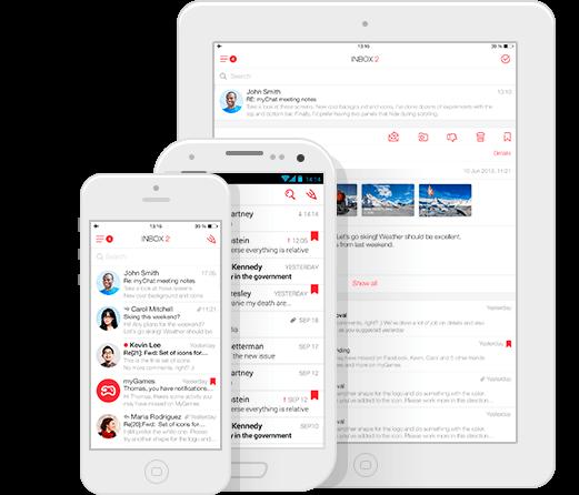 app que gestiona varias cuentas de correos