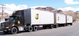 camiones de UPS