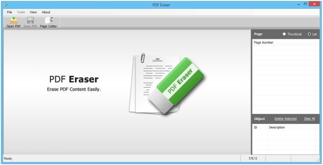 PDF Eraser programa para editar PDFS