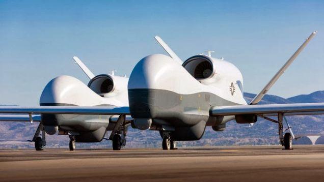 drones para combate y espionaje
