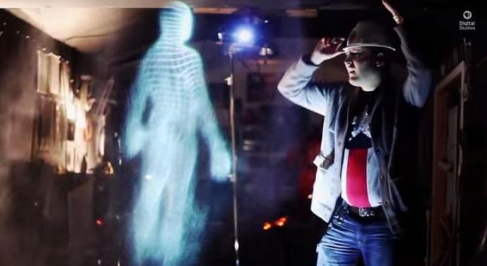 holograma casero