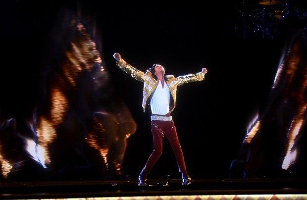 michael jackson en holograma 2014