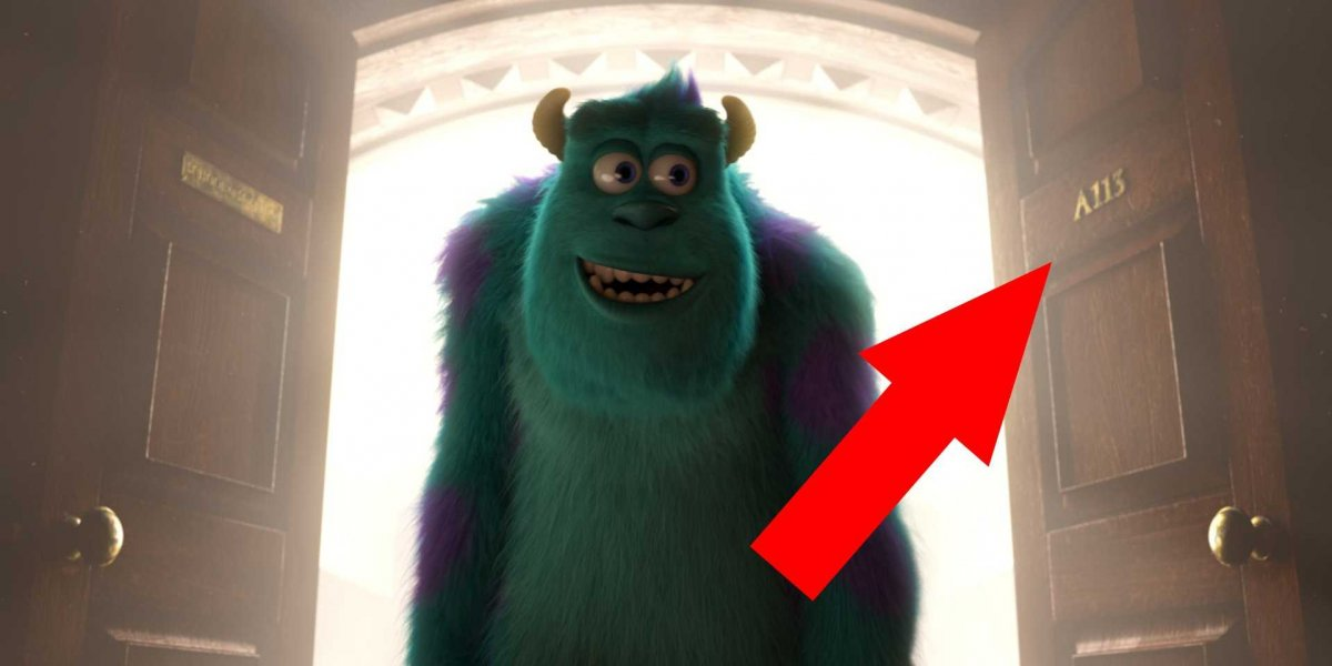 monsters university numero secreto de disney mostrado