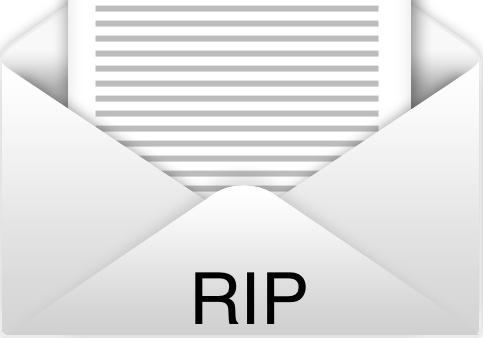 muerte del email