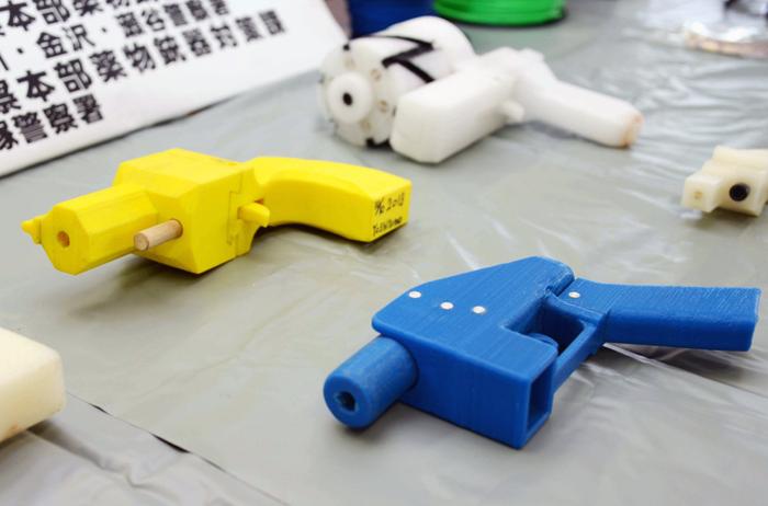 revolveres impresos en 3D