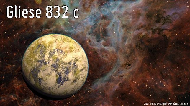 Gliese832c- planeta
