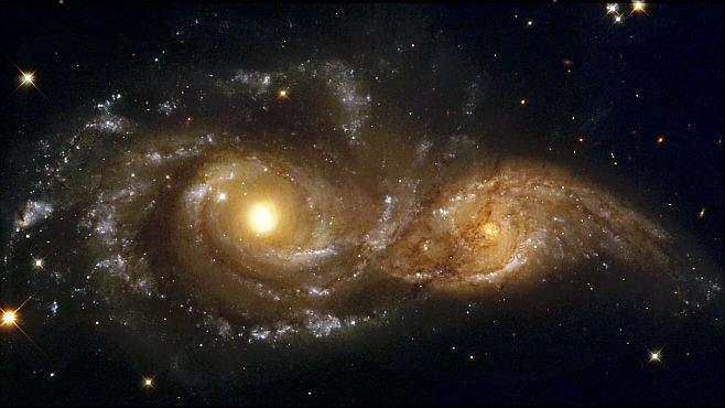choque galaxias-agujeros-negros
