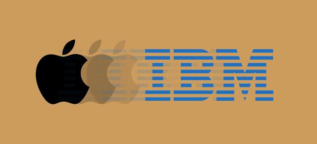 IBM y apple