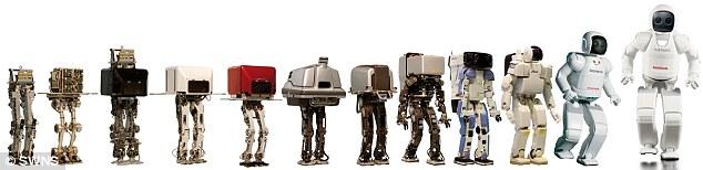 robots hechos por Honda