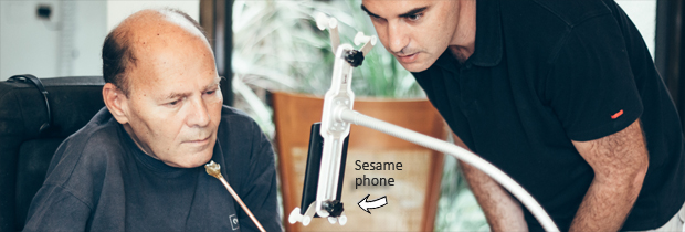 sesame-phone