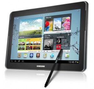 dispositivos moviles para navidad - Samsung Galaxy Note 10.1