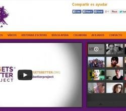 web de ayuda sobre el acoso