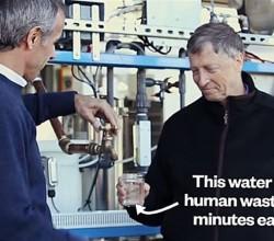 agua destilada de heces