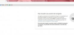 navegacion privada google