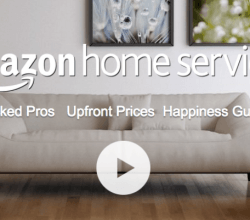 Amazon servicios en su web