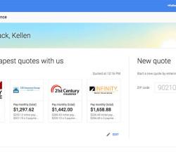 google-insurance-compare