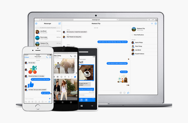 facebook-messenger web
