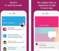 app mensajeria microsoft