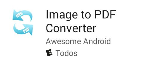Image to PDF Android