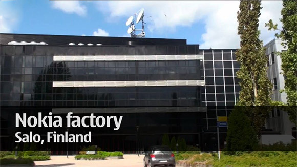 fabrica en salo de finlandia de microsoft