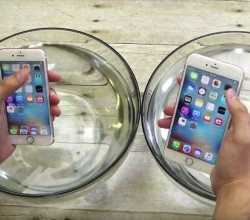 iphone6S resiste al agua
