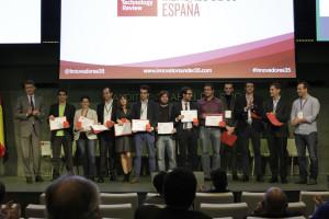 Foto Familia Innovadores menores de 35 España 2015