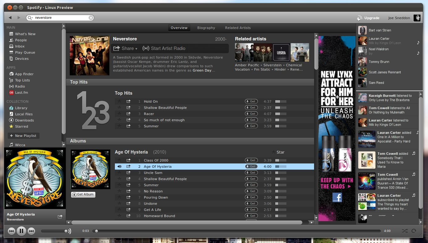 spotify-for-linux