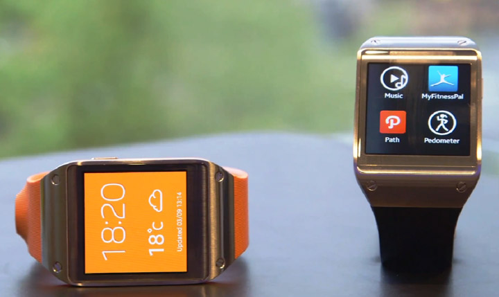 Samsung smartwatch Gear 2