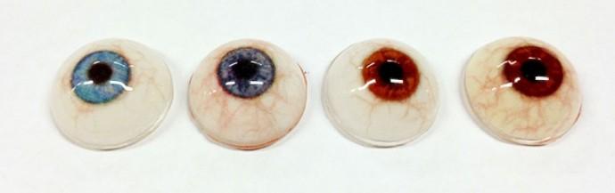 protesis ojos de cristal