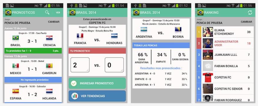 Brasil Pronostica 2014 para Android