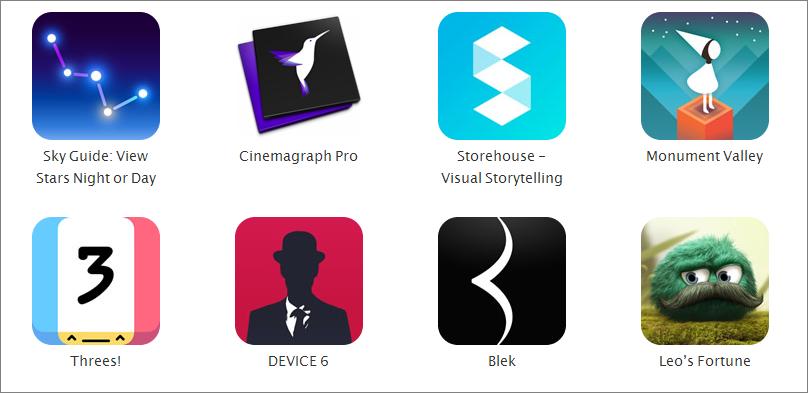 las mejores apps segun apple