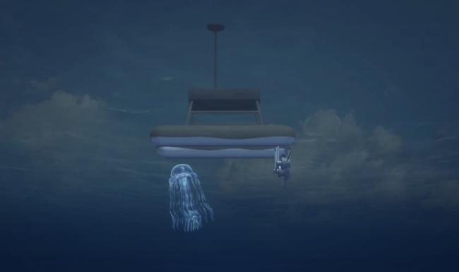 robot elimina medusas