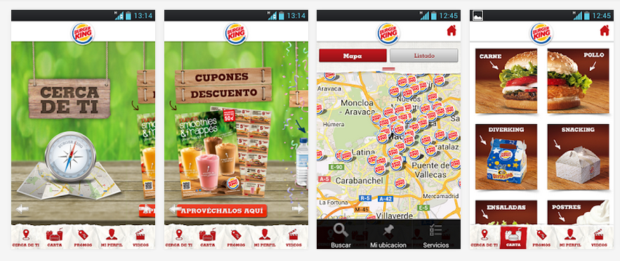 App para Android Burger King