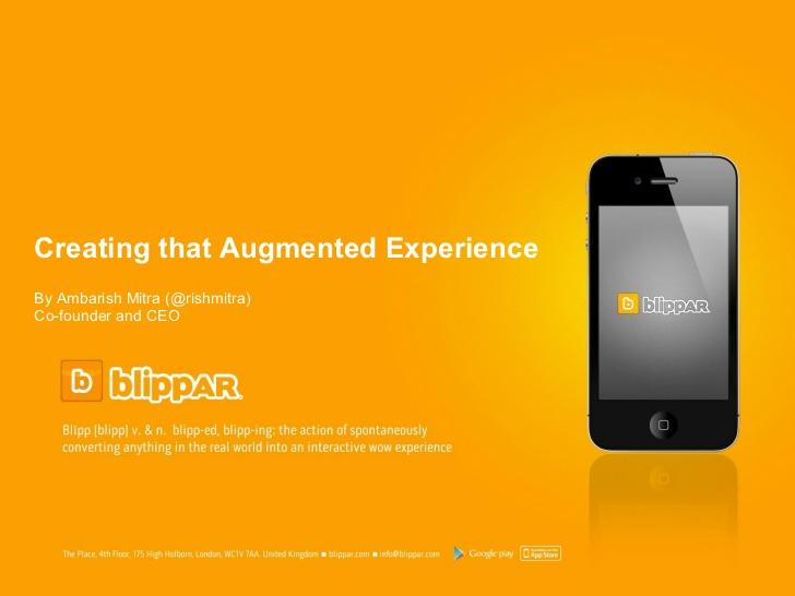 blippar app de realidad aumentada