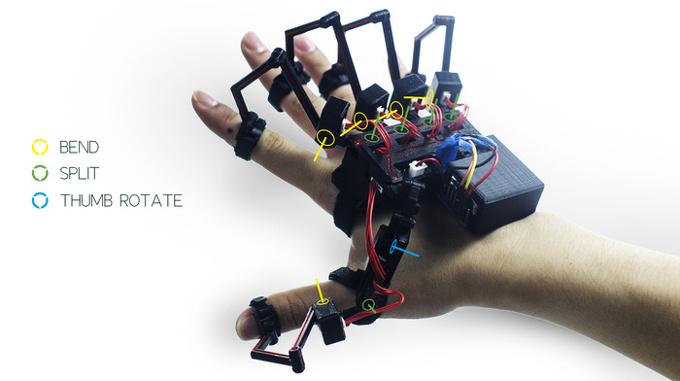 Dexmo-exoesqueleto