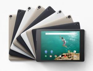dispositivos móviles para regalar en Navidad - nexus 9