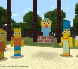 Simpson a minecraft