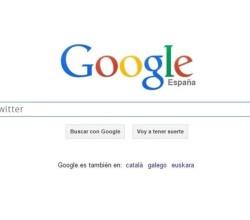 google y los tuits