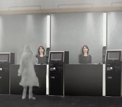 hotel asistido por robots