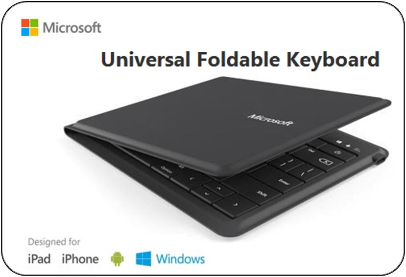 Microsoft Universal Foldable Keyboard 6
