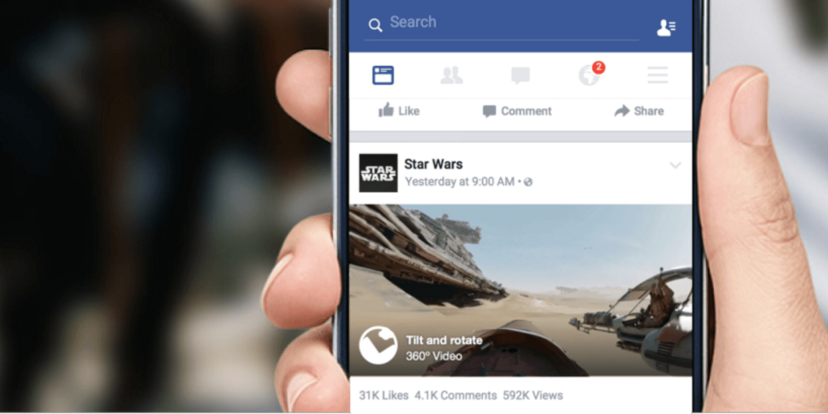 360 grados videos-in-news-feed