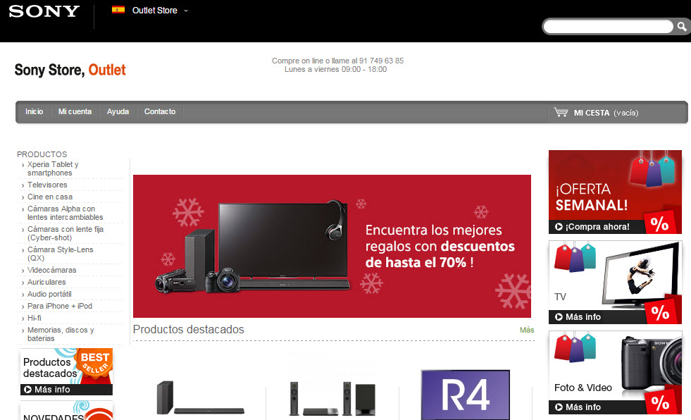 sony-outlet-store-España