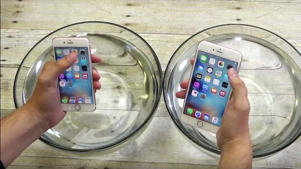 iphone6S resiste al agua
