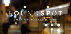 FOUNDSPOT con logo y slogan